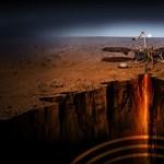 Megkezdte a fúrást a Marson az Insight robotvakondja