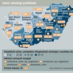 Arzénes víz fenyeget 1,5 millió magyart
