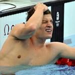 A világbajnok Gyurta Dániel elődöntős 200 mellen