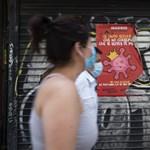 Mindenhol kötelezővé tették a maszk viselését Madridban