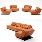 Multifunkcionális bútor: franciaágyból kanapé, fotel (fotókkal)