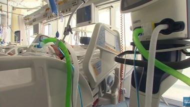 Bejutott a kamera a galántai járványkórházba, ahol a lélegeztetőgépre kerültek 60 százaléka meghal