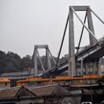 Azt már tudják, hogyan dőlt össze a genovai híd