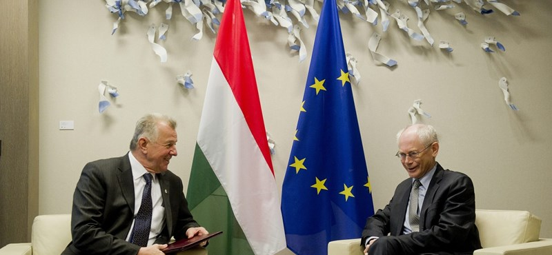 Schmitt Pál már találkozott Van Rompuy-jel