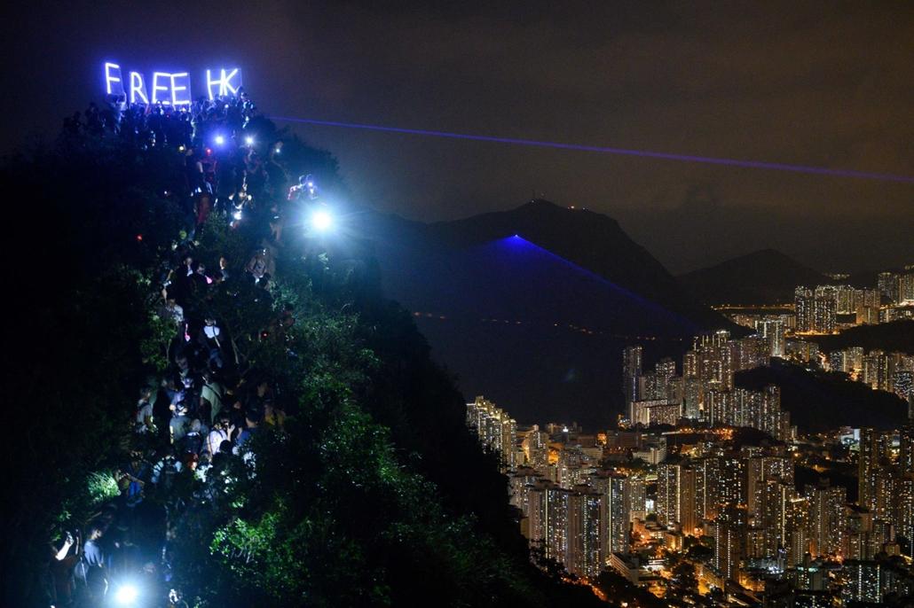 nagyítás afp.19.09.13. Hong Kong, aktivisták
