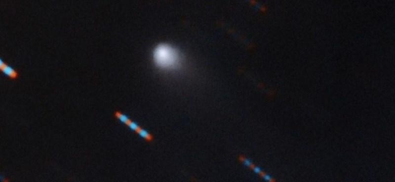 Csak a magja egy kilométeres a Naprendszeren kívülről érkezett üstökösnek