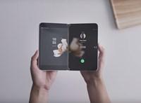 Így működik a Microsoft összehajtható androidos telefonja – videó