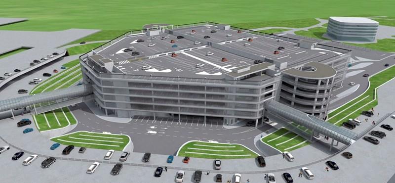 Igy néz majd ki a Liszt Ferenc reptér új parkolóháza