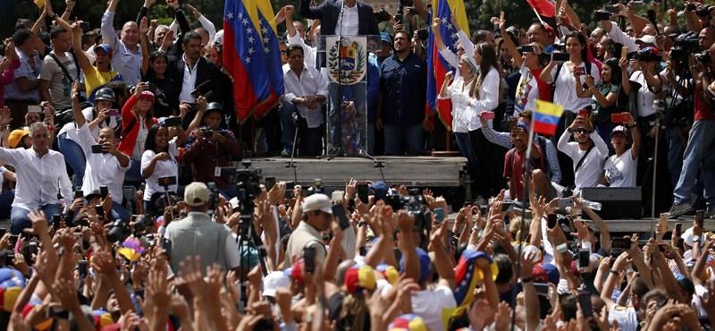 Puccskísérlettel vádolják Guaidó több hívét Venezuelában