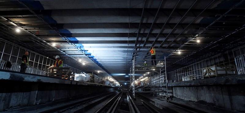"""""""Kistestű emlősállat"""" miatt volt baj a 3-as metró felújított szakaszán"""