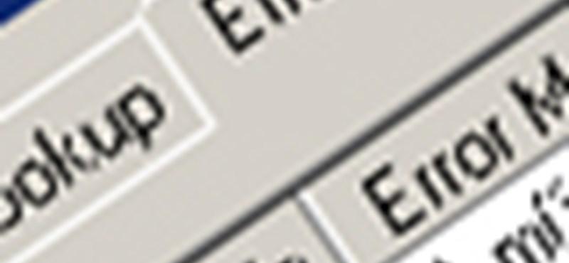 Az összes Windows hibaüzenet, magyarul