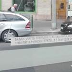 A 4-6-os megállóban üzenték meg a civilek, hogy Orbán nem mondott igazat – fotó