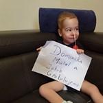 Zente és Levente után három szlovákiai gyerek is Magyarországon kaphatta meg a világ legdrágább gyógyszerét