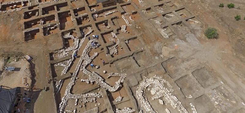 Ötezer éves nagyváros romjaira bukkantak Izraelben