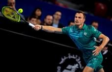 Federerrel együtt edzett Fucsovics Márton
