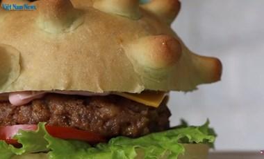 A koronaburger az új sláger egy vietnami étteremben