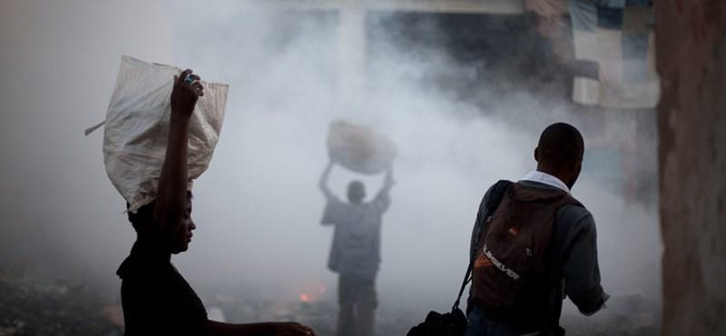 Tüntetések hétvégéje: Haitin is sok ezren mozdultak meg, két halott