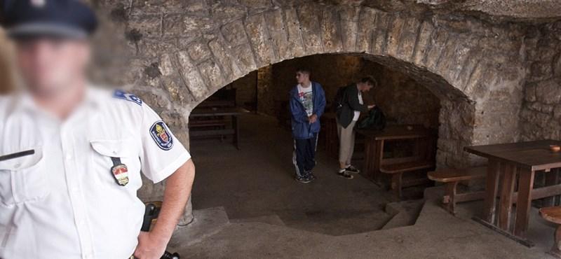 Megjelent az állam a Budavári Labirintusban