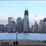 Emberek repkedtek New York felett? (videó)