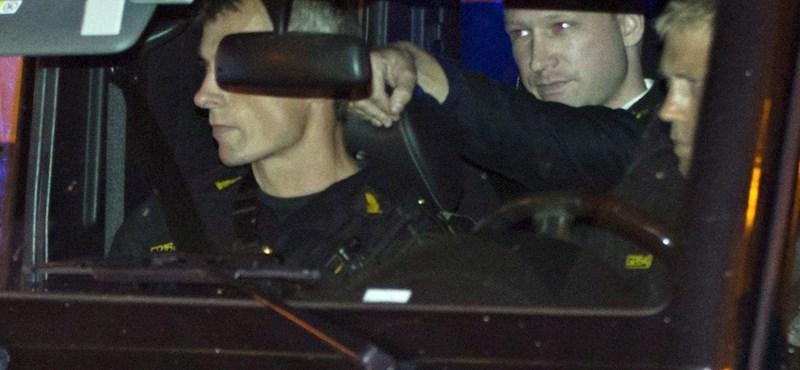 Breivik: inkább a halál, mint a pszichiátria
