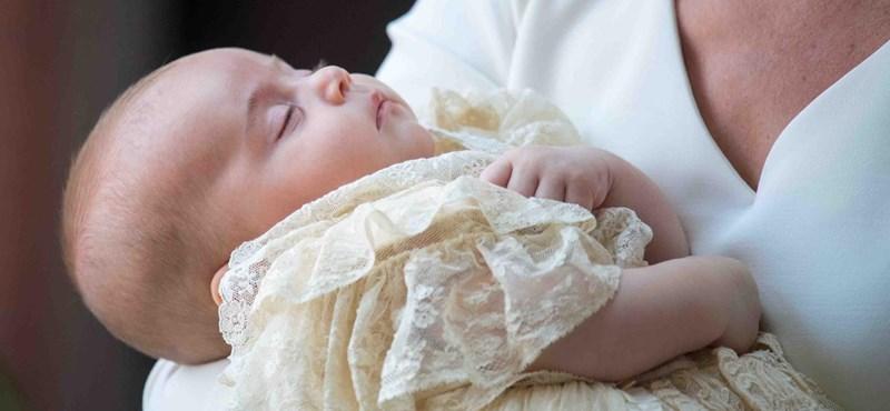 Csodaszép keresztelője volt Lajos hercegnek