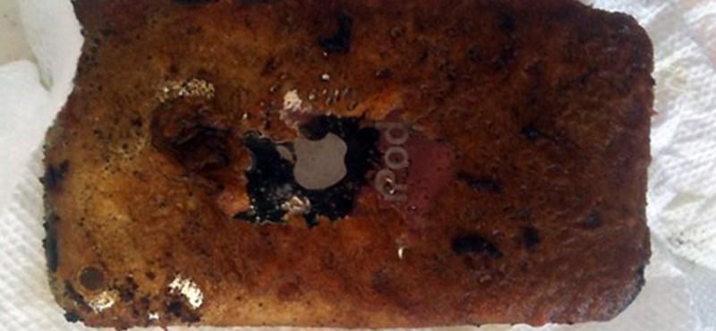 Felrobbant az iPod az osztályteremben