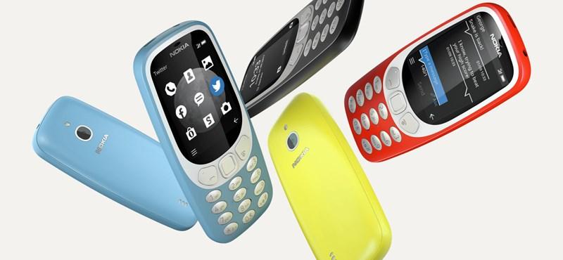 Újra itt a Nokia 3310-es, de úgy, hogy már 3G is van benne