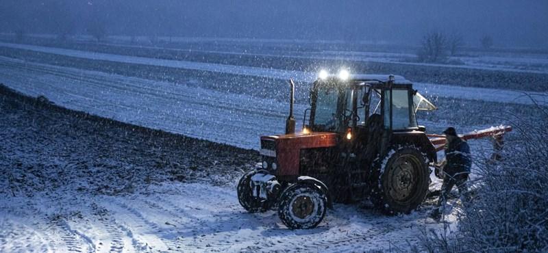 Azért van ebben a havazásban valami varázslatos is – képek az országból