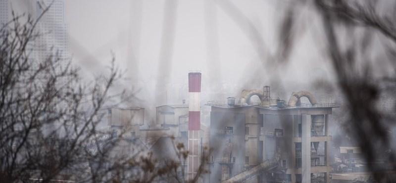 Többfelé romlott a levegőminőség, két városban már egészségtelen a levegő
