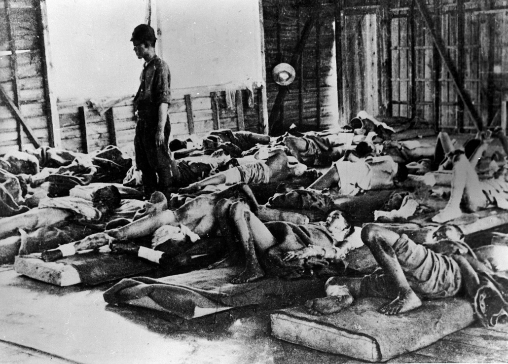 afp. hiroshima, atombomba, 1945.01.01. HIROSHIMA HONSHU JAPAN ASIA : World War II. Victims of the atomic bomb. Hiroshima (Japan), 1945.