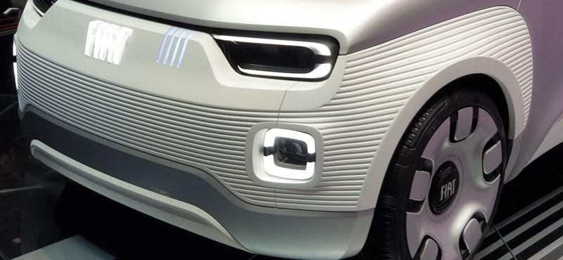 Pandázzunk egyet: a cukiság-faktorra alapoz a Fiat apró villanyautója, megnéztük