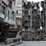 Erősen bombázzák reggel óta a felkelőket Aleppóban