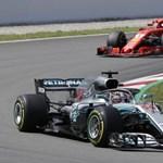 Hamilton nyerte a Német Nagydíjat