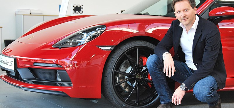 """Why is there an electric Porsche exhaust? - Interview with Péter Varga, renowned Porsche designer, """"width ="""" 800 """"high ="""" 370"""