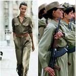 Kurd harcosnak öltözteti modelljeit a H&M?