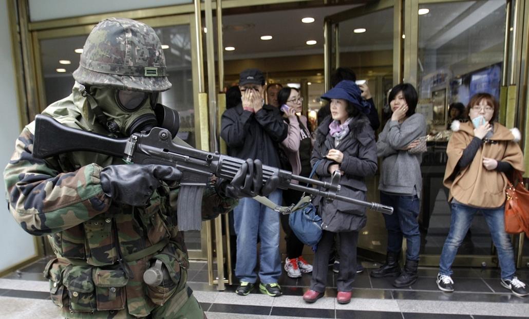 Koreai rakétaválság japán rakétaválság Észak-Korea Dél-Korea,