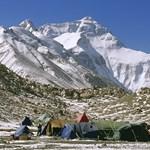 A Mount Everestre készül egy vak hegymászó