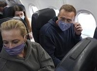 Megérkezett Moszkvába Navalnij
