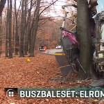 Buszbaleset a Mátrában: vizsgálja a rendőrség, hogy tényleg nem működött-e a fék
