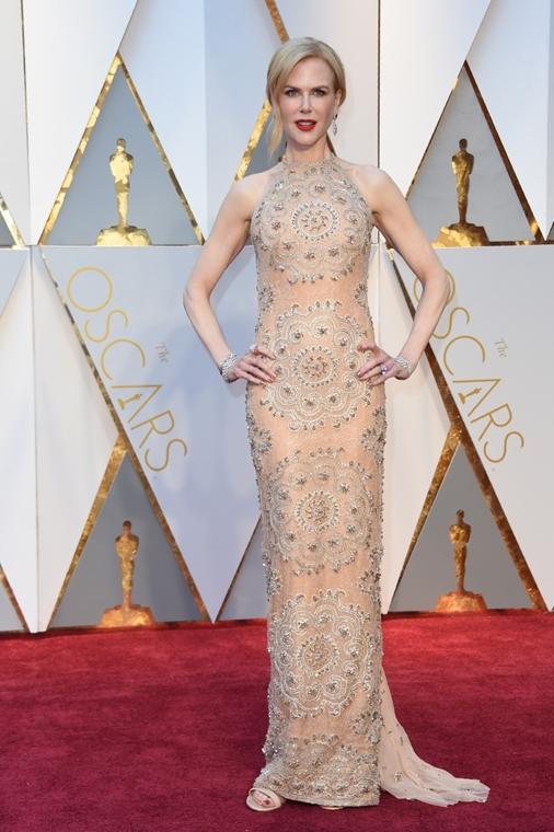 afp.17.02.27. - Hollywood, USA: 89. Oscar-díj - érkezés - Nicole Kidman - Oscar-díj 2017