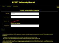 Hibás a Covid-oltás regisztrációs felületének gyengénlátó verziója