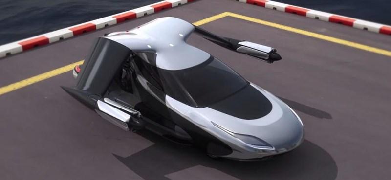 Bemutatták a következő repülő autót, ami szinte mindent magától csinál