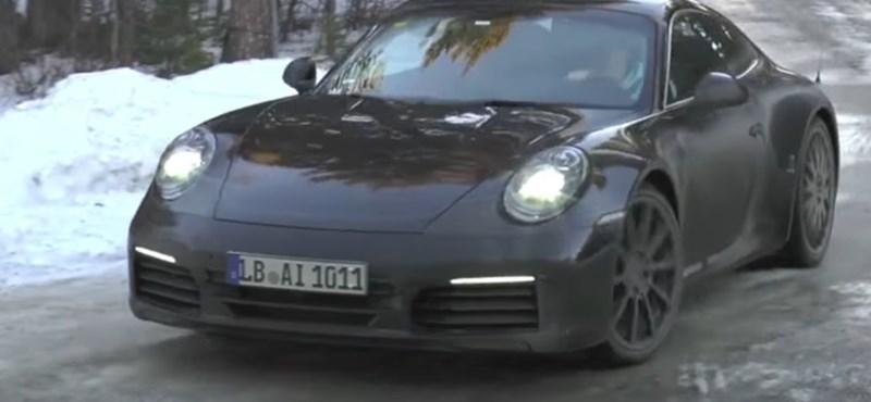 Lebukott: videón a 2019-es új Porsche 911