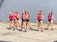 Rövidnadrágban twerkelő táncosok miatt került bajba az ausztrál hadsereg