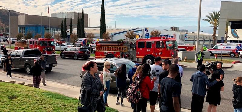 Lövöldözés volt egy kaliforniai iskolában, egy halottról tudni
