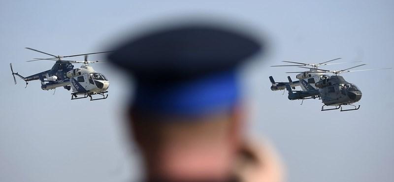 Daszvidanyja, szovjet gépek: 5 új helikoptert kaptak a magyar rendőrök – fotók