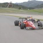 Mit keresett Vettel egy F1-es Ferrarival a versenypályán? – videó