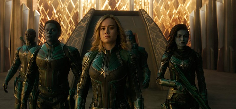 Egy nő, aki legalább olyan menő vadászpilótának, mint Marvel Kapitánynak