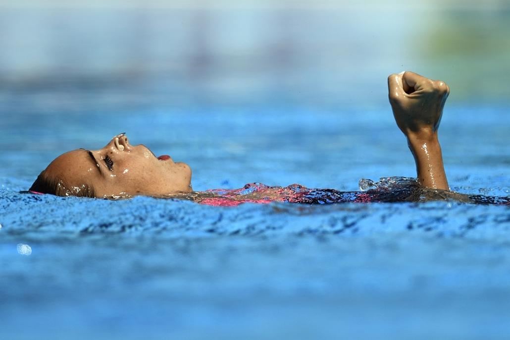 afp.17.07.19. - A spanyol Ona Carbonell szinkronúszó július 19-én. - fina vizes vb