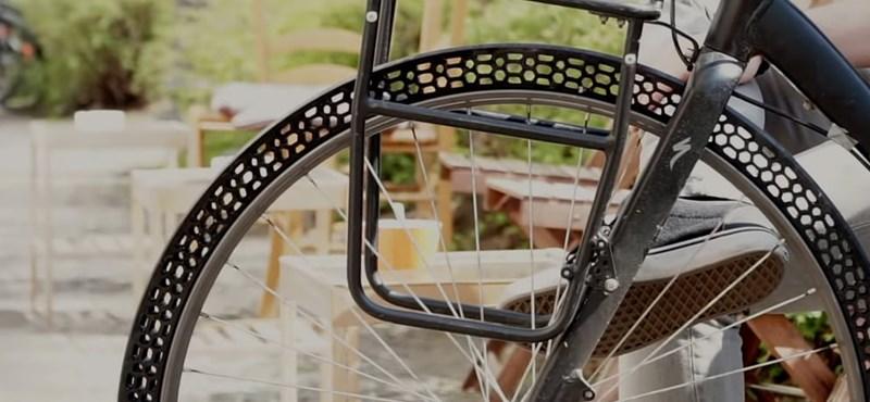 Megcsinálták a biciklikereket, ami minden kerékpáros álma – sosem fog kilyukadni
